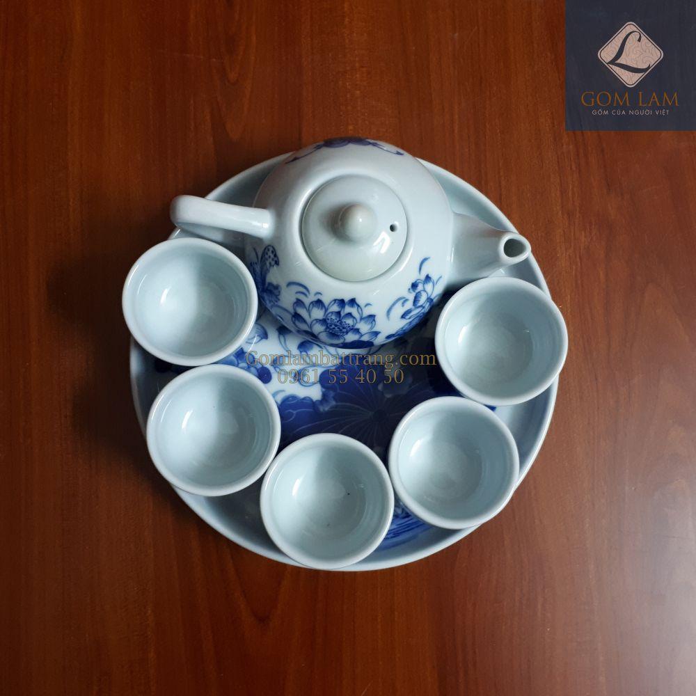 bộ trà cúng