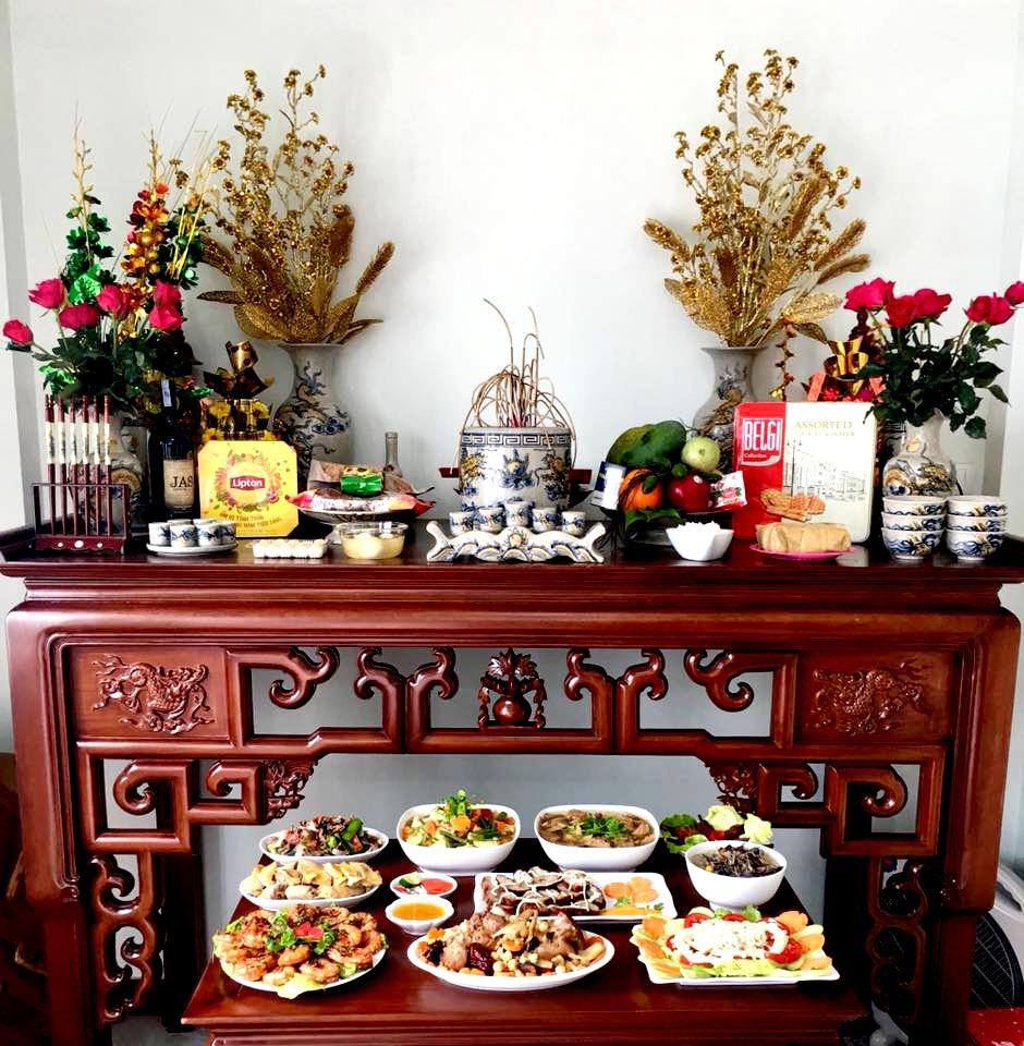 Tìm hiểu các mẫu bàn thờ gia tiên sử dụng phổ biến hiện nay