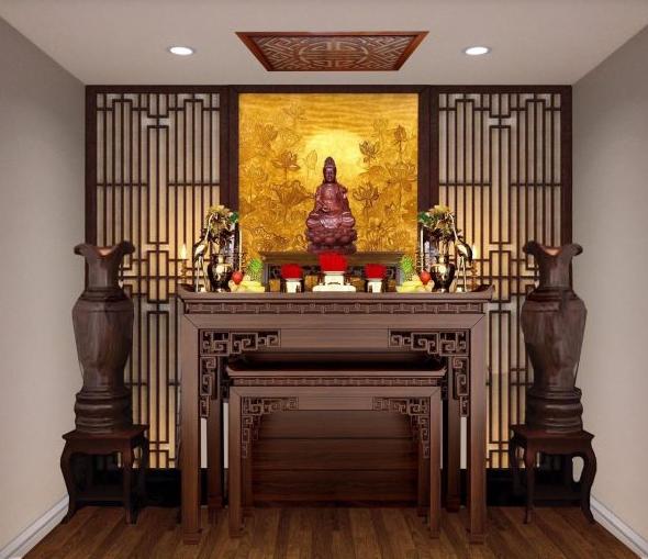 Tư vấn cách chọn và bài trí đồ thờ bàn thờ Phật tại gia