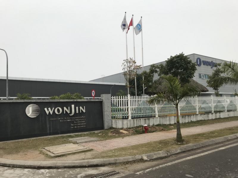 Giao hợp đồng 1000 bộ bát sứ trắng cao cấp in logo Tổ hợp doanh nghiệp Hàn Quốc Wonjin Vina