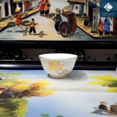 Bát súp Hoa Sen Dát Vàng