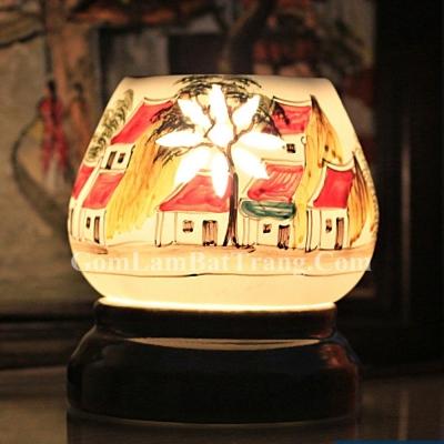 Đèn xông tinh dầu tam giác mẫu 3