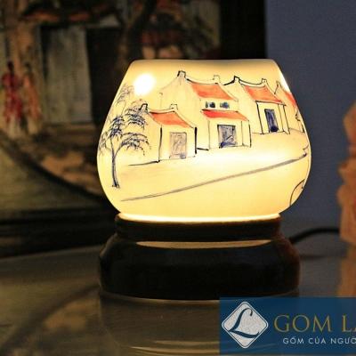 Đèn xông tinh dầu tam giác mẫu 4